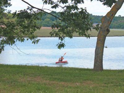 navagation kayak Plougmelen